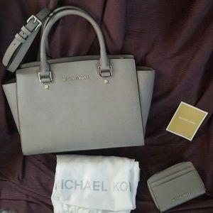 Michael Kors Selma Bag & Wallet